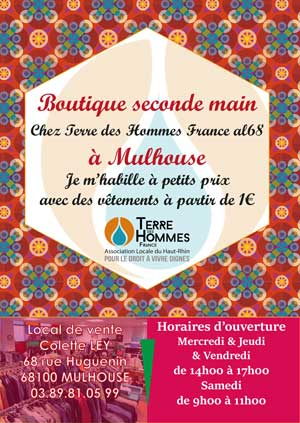 affiche local vente mulhouse